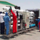 Mobile water purification plant